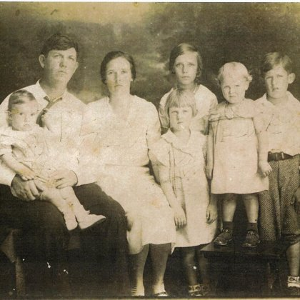Ben and Lydia Valentine White Family