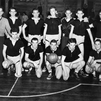 1948 Ball Team Jean Baker Cobb