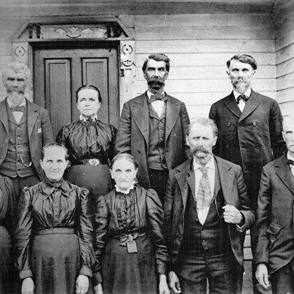 Billy Chesnut Family 1902 (Neville Smith)
