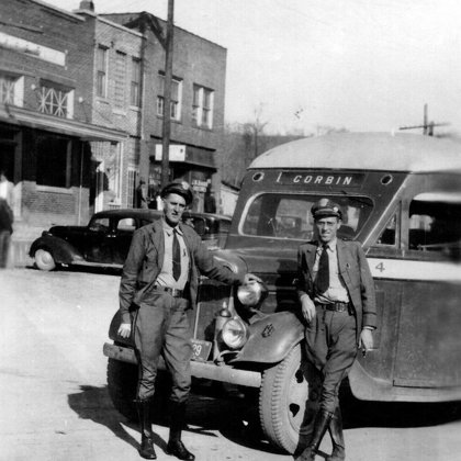 Black Brothers Bus Line - Claire Burchell's Store 03-21-1939